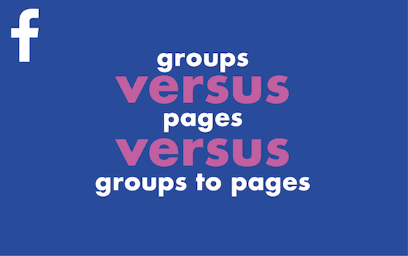 Facebook Pages, Groups or Both