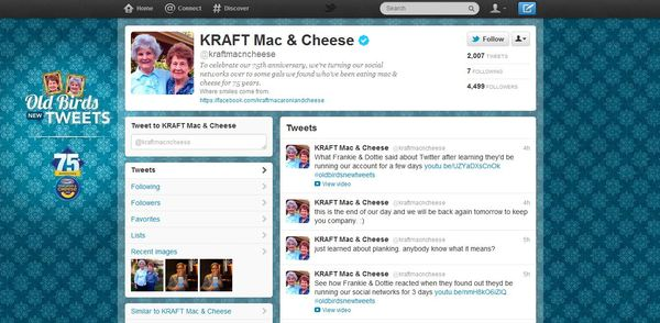 Funny social media brands Kraft Mac And Cheese